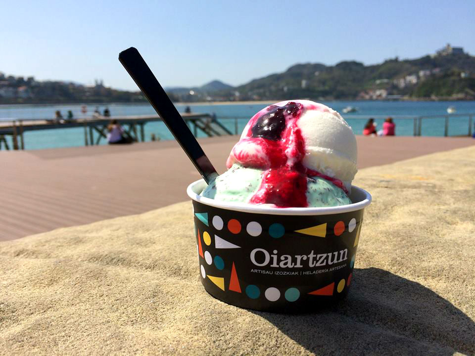 san sebastian ice cream